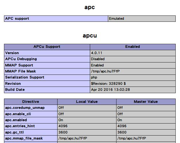 php-apcu-module